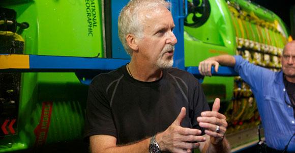 Cameron y el Deepsea Challenger