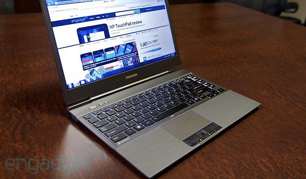 Toshiba Portege Z830, imagen: engadget
