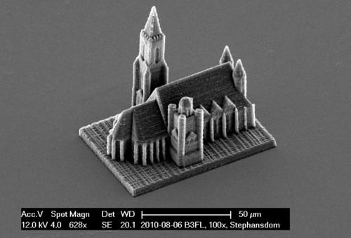 Nano-escultura de Catedrál